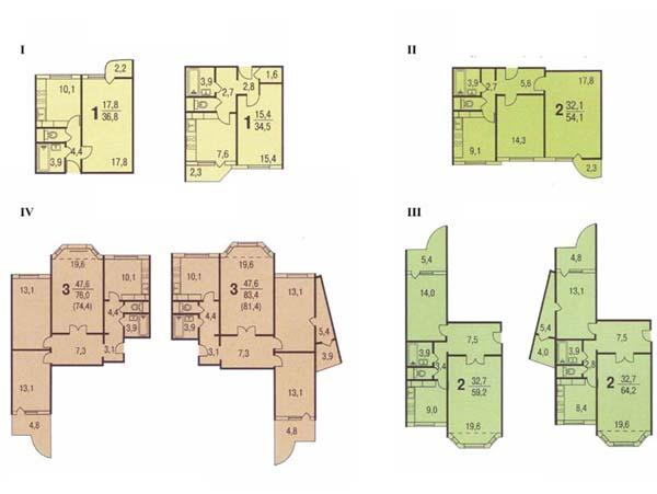 Планировки квартир жк - сайт товарищества собственников жиль.